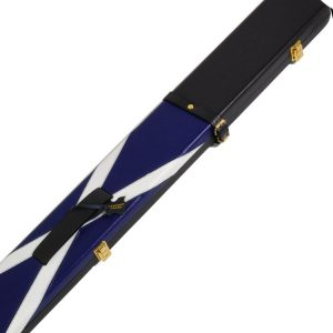 Peradon Scottish Flag design leather cue case