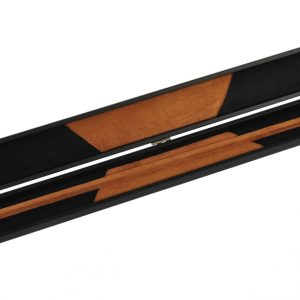 Peradon Clubman Two Piece Cue Case-open