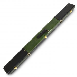 Peradon Black and Green Leather Case