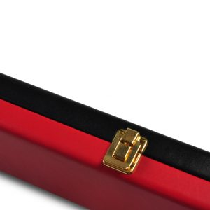 Peradon Black and Red Leather Case-CLOSE-UP-2