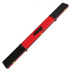 Peradon Black and Red Leather Case