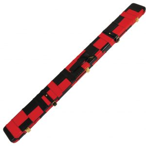 Peradon Black and Red Patchwork Leather Case