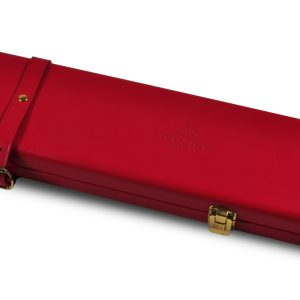 Peradon Red Leather Case-CLOSE-UP