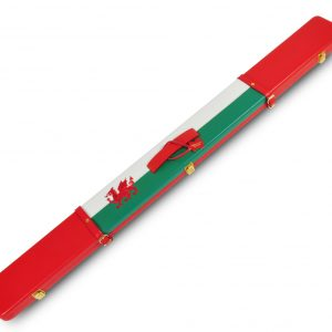 PERADON WELSH FLAG DESIGN LEATHER CASE
