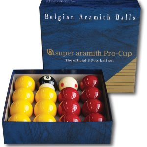 Super Aramith Pro Cup League Pool Balls